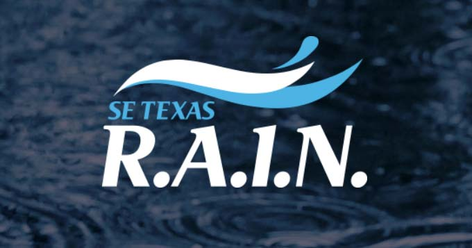 Logo for SE Texas R.A.I.N.